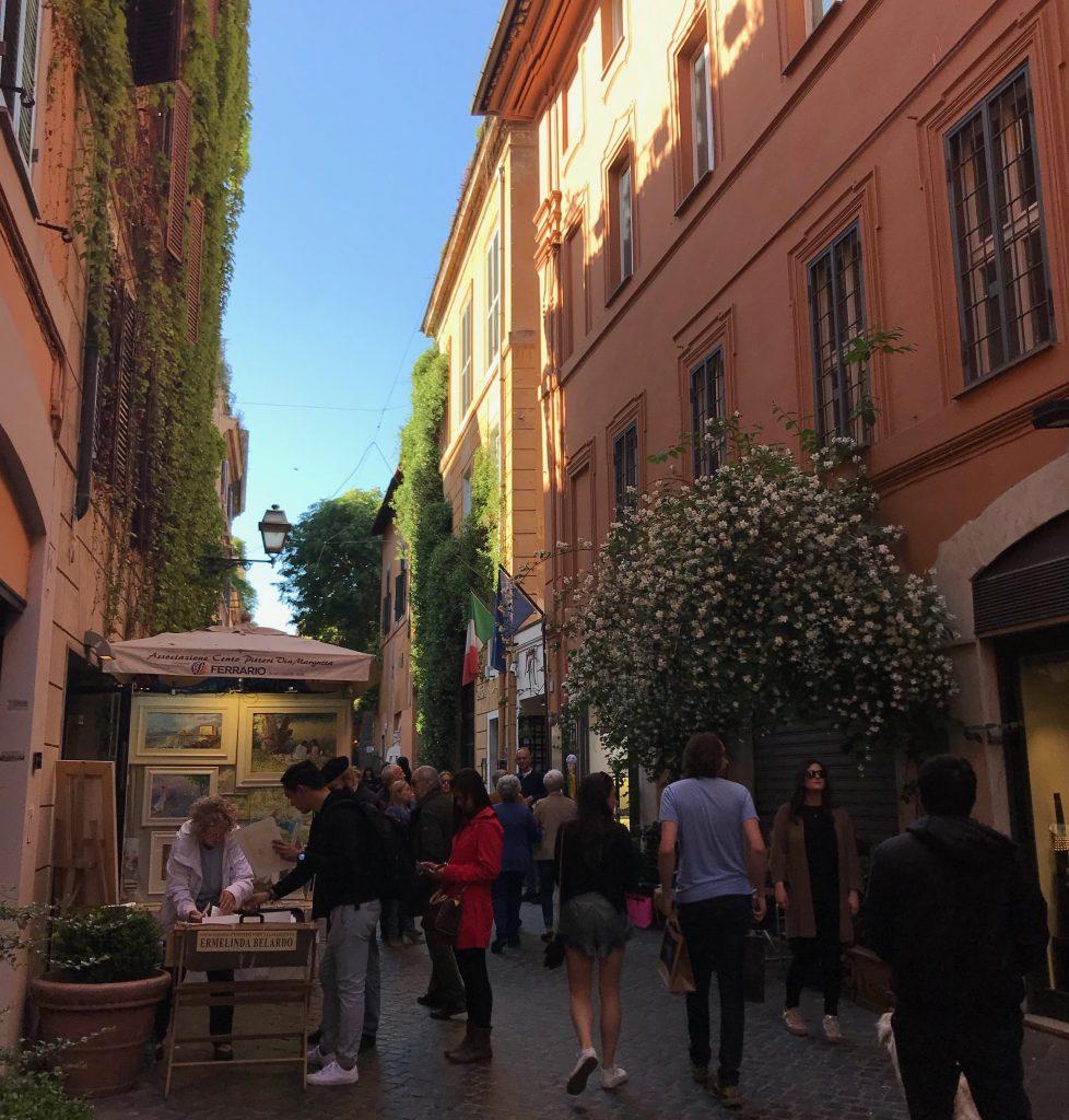 Rome quartier à éviter
