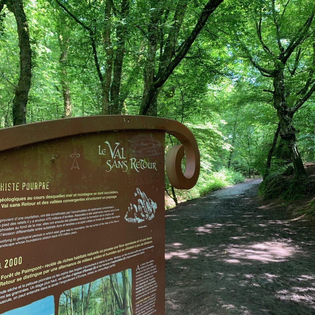balade contée val sans retour brocéliande forêt des druides