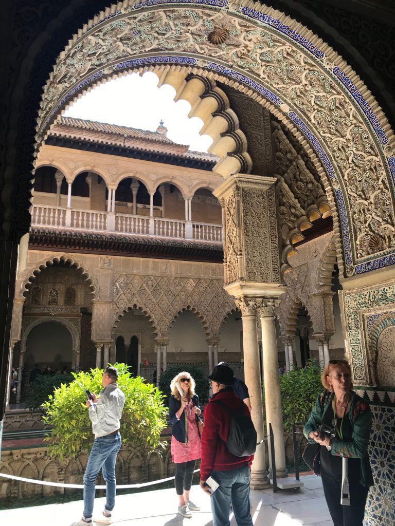 visite guidée Alcazar de Séville en français