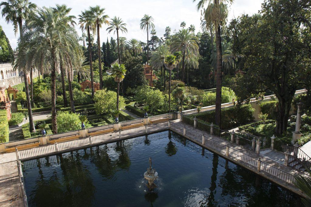 Jardin Alcazar Séville Game Of Thrones