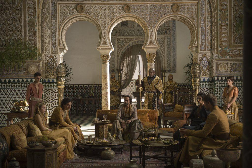Palais Alcazar Séville Game Of Thrones