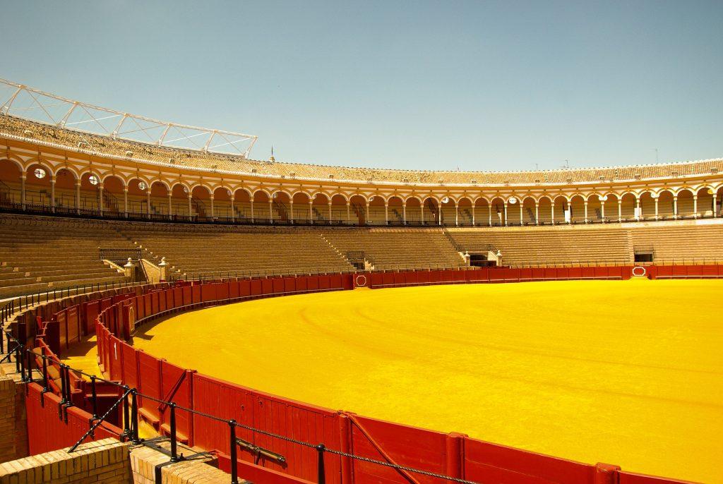 La Plaza de Torros de Séville