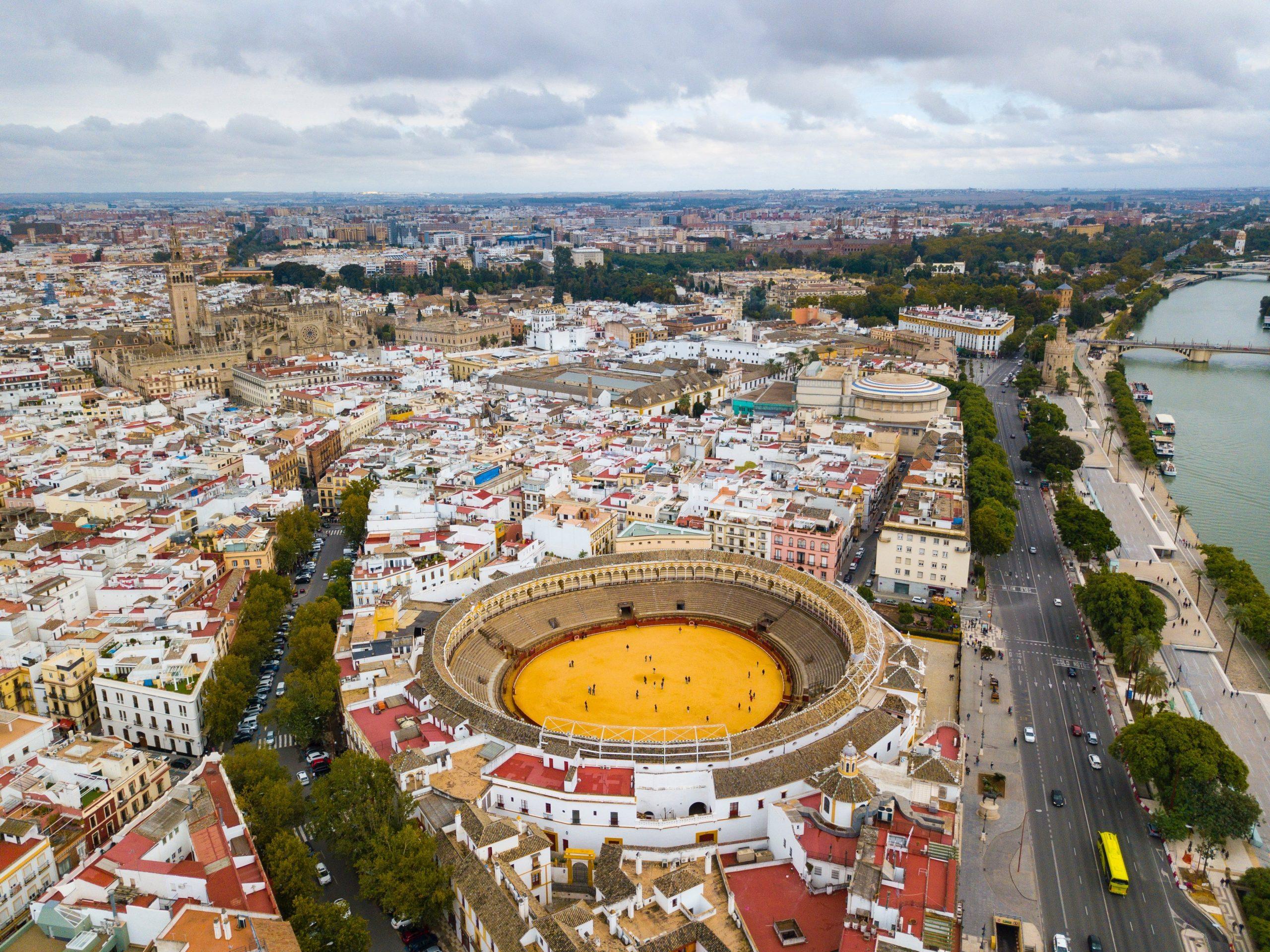 Plan de Séville: Office du Tourisme, Bus, imprimable et PDF