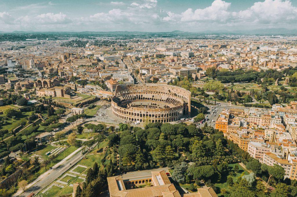 Vue sur le Colisée
