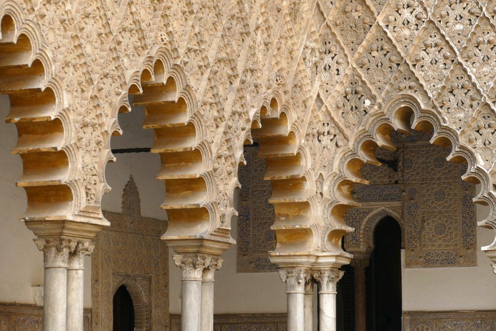 les cours visite guidée Alcazar de Séville en français