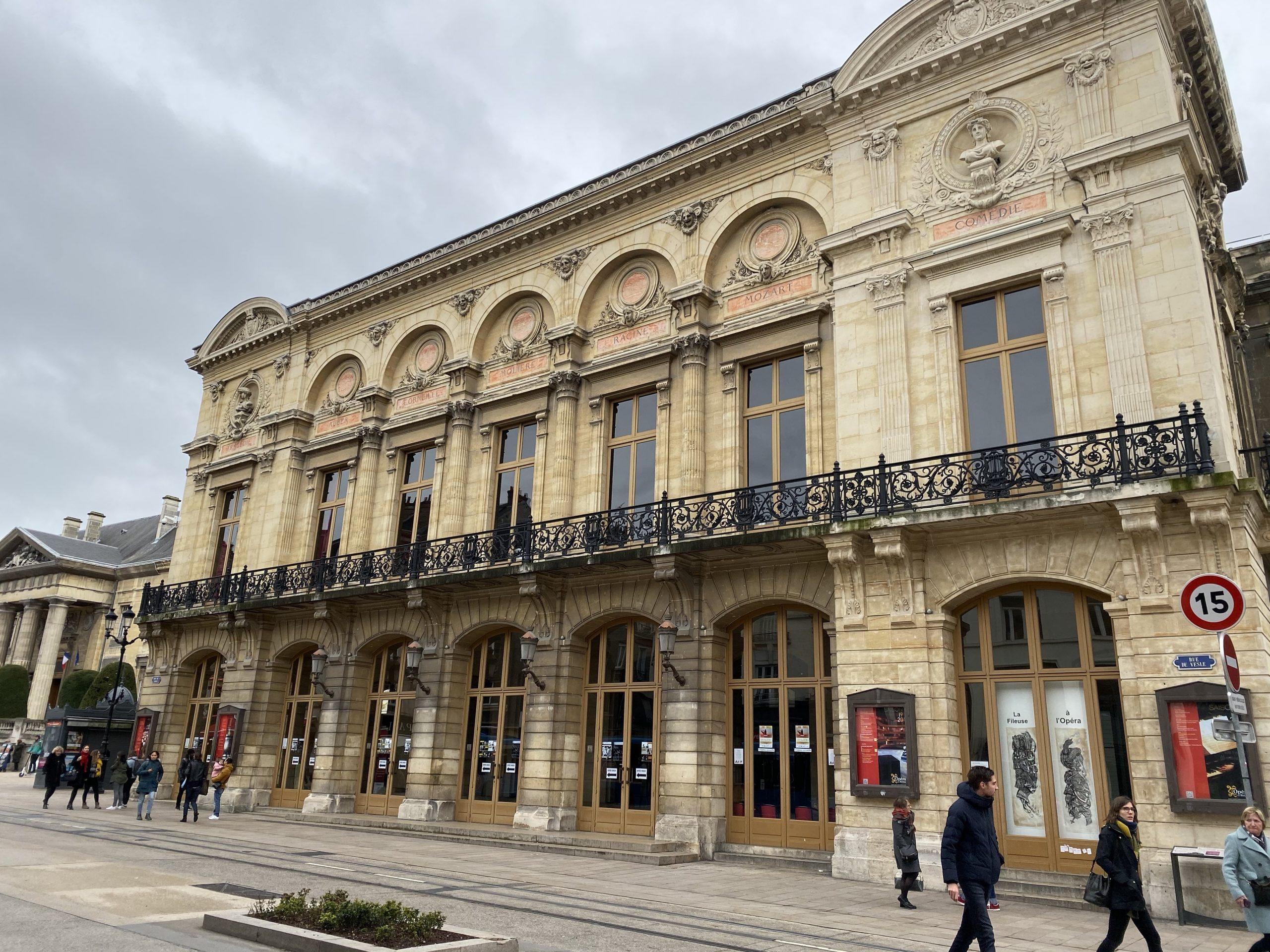 Reims quand il pleut