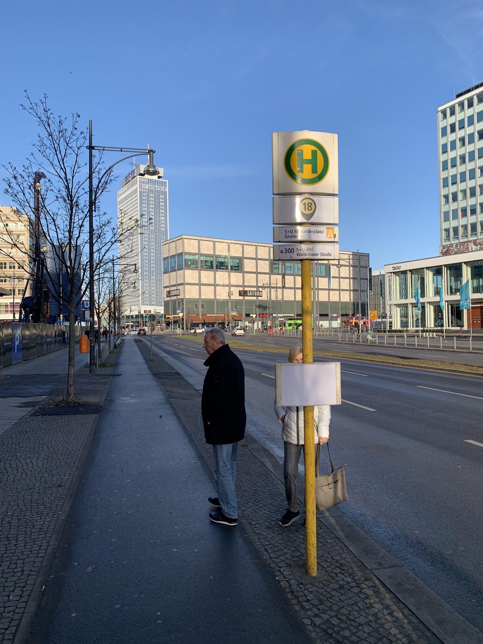 Berlin Arret de bus