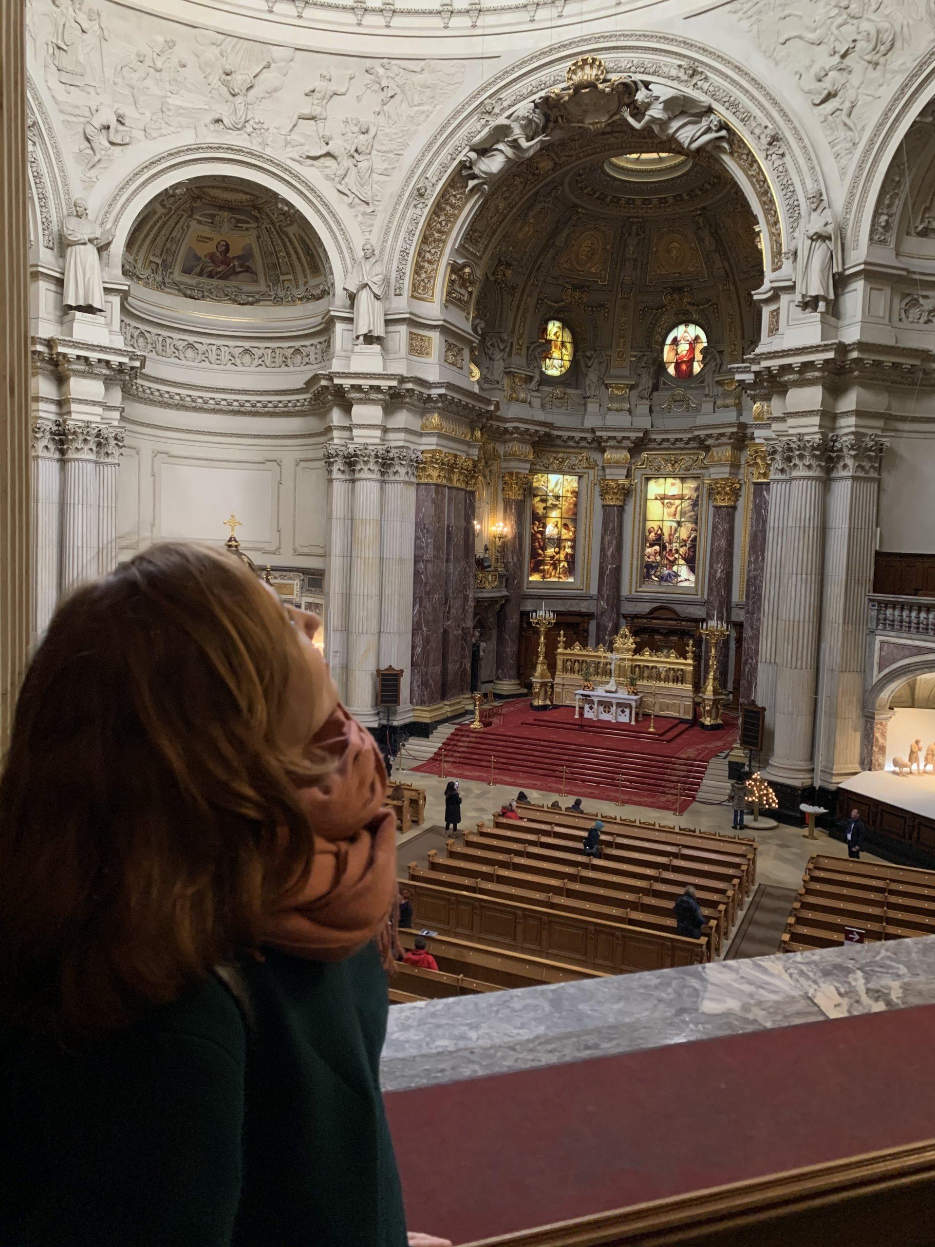Intérieur cathédrale blog