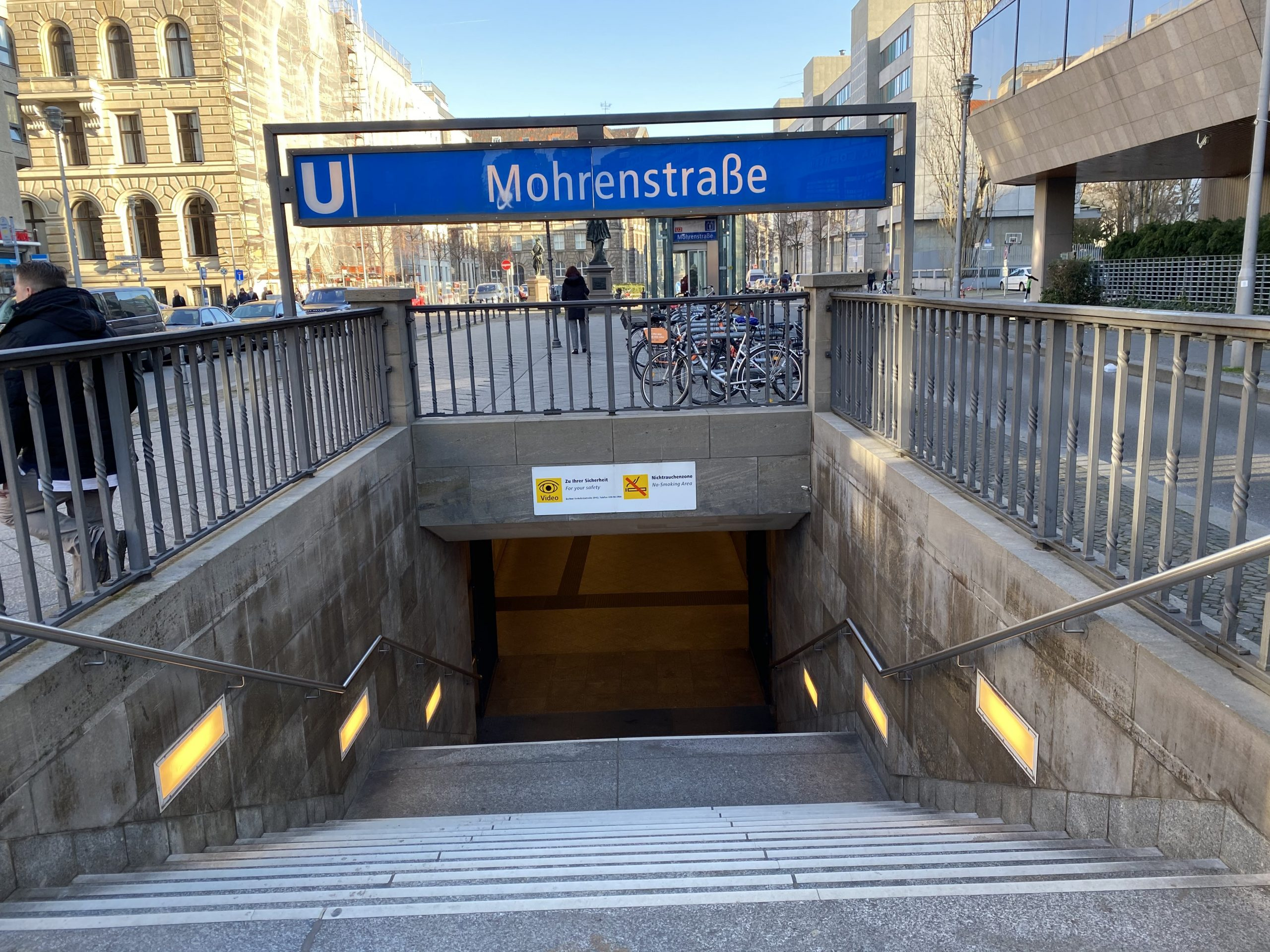 Entree station metro Berlin