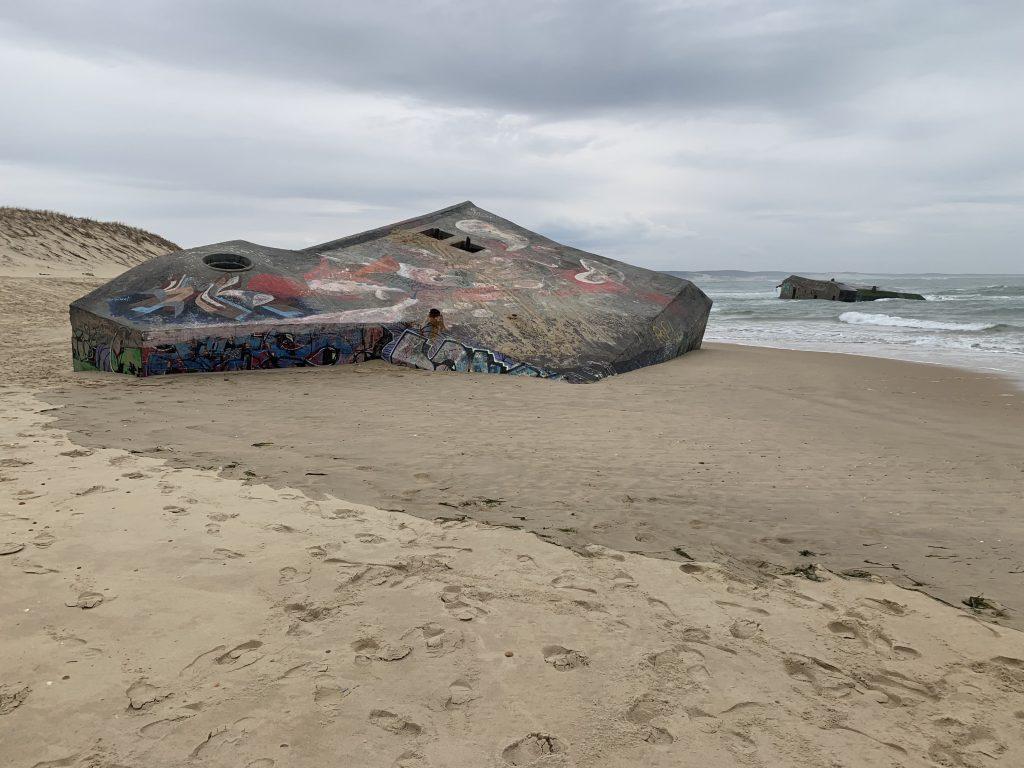 Bunker enterré du Cap Ferret, autour de Bordeaux