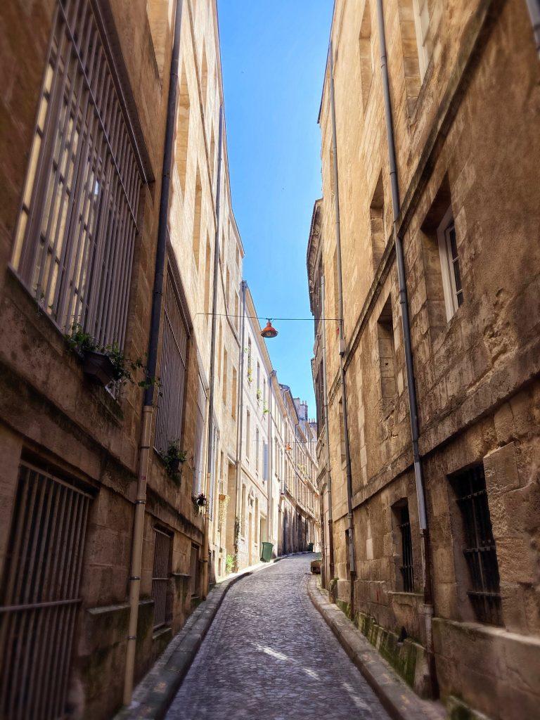 Une rue de Bordeaux