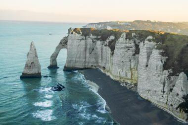 Visiter la Normandie Etretat falaises que faire où dormir