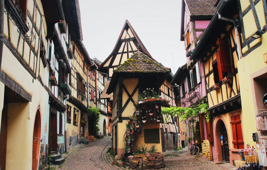Visister Route des Vins Alsace week end Eguisheim