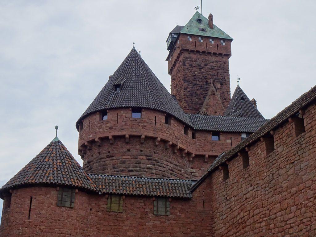 quels chateaux visiter en Alsace
