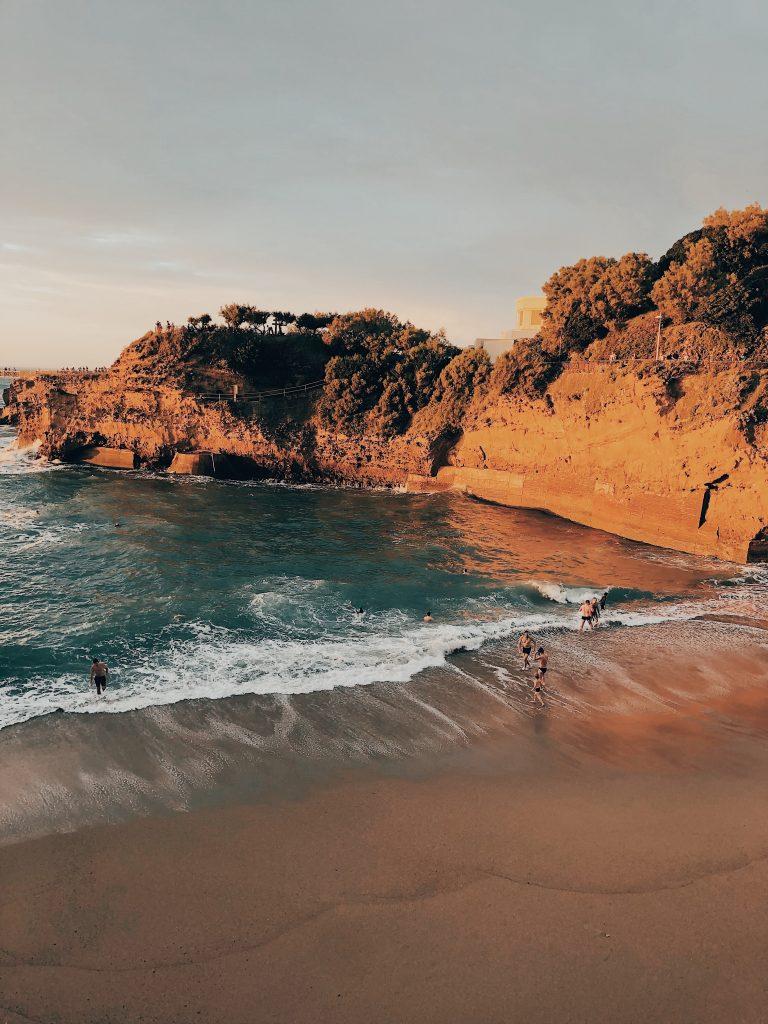 visiter biarritz plage pays basque week end